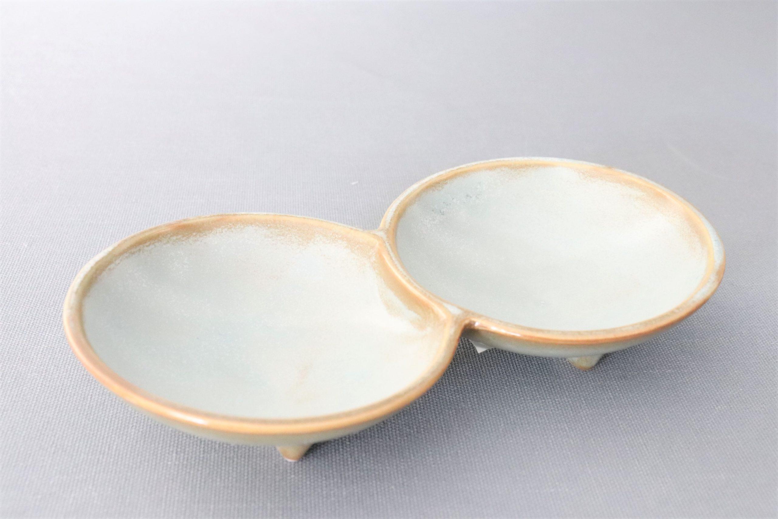 【有田焼】薄利休二組小皿
